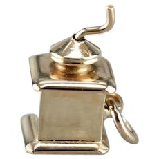Old Fashion Coffee Grinder Charm
