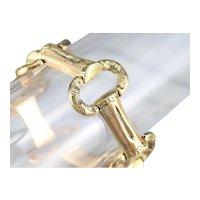 Stunning Victorian 18 Karat Gold Link Bracelet