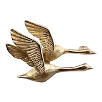 Unisex Flying Geese Pin