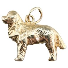 Saint Bernard Dog Charm