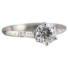 Stunning Upcycled GIA Diamond Engagement Ring