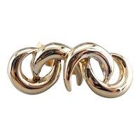 Modernist Stud Earrings