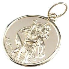 Saint Christopher Medal Pendant