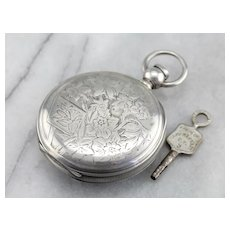 Victorian Hunters Pocket Watch