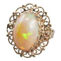 Vintage Opal Cocktail Ring