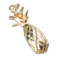 Vintage 14 Karat Gold Pineapple Charm