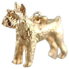 Scottish Terrier Pendant or Charm