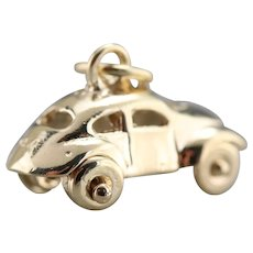 Sweet Little VW Bug Car Charm