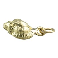 Small Conch Shell Charm