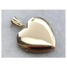 Vintage Heart Shaped Locket
