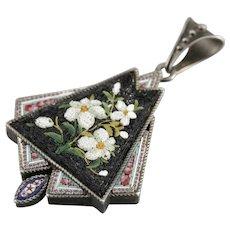Victorian Micro Mosaic Locket