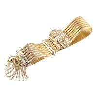 Victorian Cultured Seed Pearl Tassel Bracelet