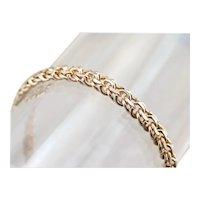 Vintage Double Link Chain Bracelet