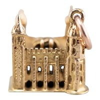 Detailed Tower of London Charm