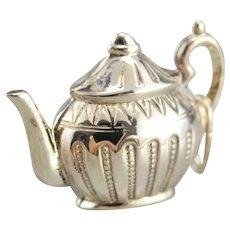 Vintage Teapot Charm Pendant