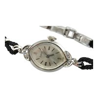 Vintage Zodiac Ladies Watch with Diamond Accents