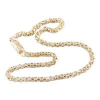 Vintage Circle Link Chain Ankle