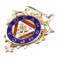 1930s Vintage Masonic Lapel Pin or Pendant