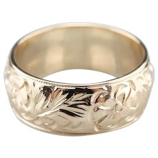 Unisex Mid Century Floral Band