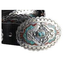 Collectors Quality Billy Slim Navajo Concho Belt