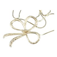 Retro Era Bow Conversion Necklace