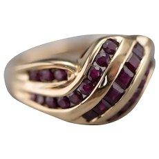 Vintage Ruby Fashion Ring