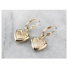 Sweet Heart Drop Earrings