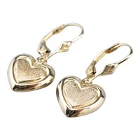 Sweet Heart Drop Earrings