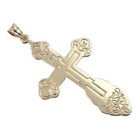Large and Bold: Vintage Russian Orthodox Cross