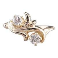 Botanical Diamond Ring