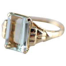 Upcycled Ostby and Barton Aquamarine Ring