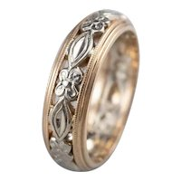Sweet Two Tone Floral Band