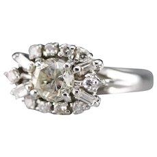 Pretty Vintage Diamond Cocktail Ring