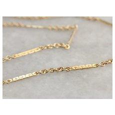 Vintage Decorative Link Chain