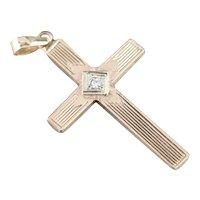 Diamond Retro Era Unisex Cross