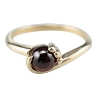 Vintage Garnet Bypass Ring