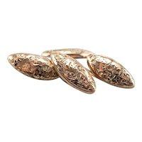 Engraved Victorian Cufflinks