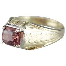 Rare Color Change Sapphire Unisex Ring