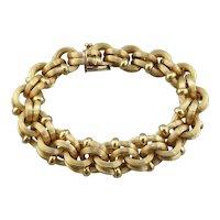 Bold Link Bracelet, Italian Substantial Link Style