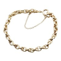 Classic Oval Link Stacking Bracelet