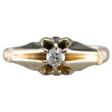 Victorian European Cut Diamond Ring