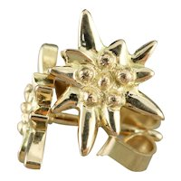 Vintage Starburst Stud Earrings