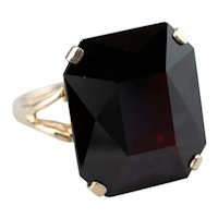 Stunning Garnet Cocktail Ring