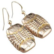 Ornate Victorian Drop Earrings