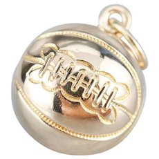 Vintage Basketball Sports Charm or Pendant