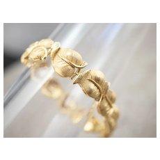 Heavy 18 Karat Gold Link Bracelet