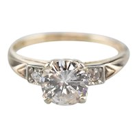 Stunning Retro Era Diamond Engagement Ring