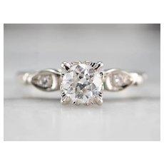 Old European Cut Diamond Ring