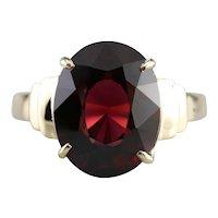 Rhodolite Garnet Statement Ring