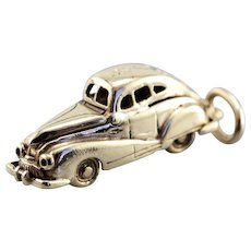 1940's Moving Parts Car Charm with Engraving Date 12.1.46